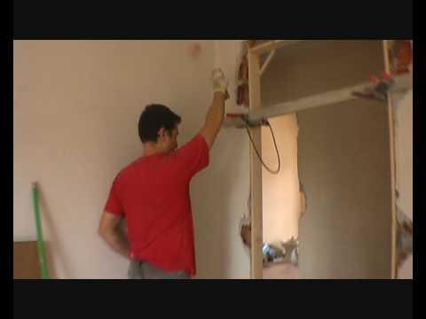 Come fare un muro- usare filo piombo