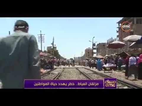 شاهد بالفيديو وزير النقل يرد علي مشكله مزلقان العياط