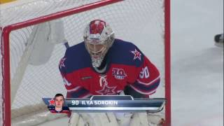 Sorokin saves on Glazachev