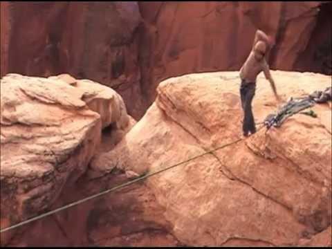 Slacklining – Moab