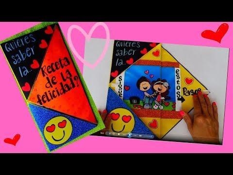 Tarjetas de amor - COMO HACER FELIZ A MI NOVIO - How to make my boyfriend happy - creaciones betina