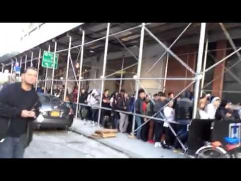 iPhone 6 launching 14th street | השקת אייפון 6 אפל סטור ניו