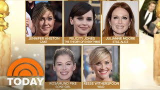Golden Globe Nominations Announced   TODAY