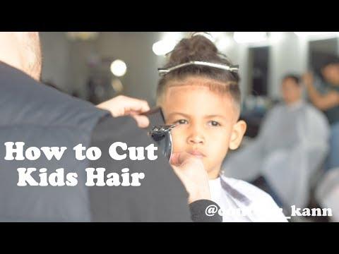 Hair cutting - How to cut Kids hair