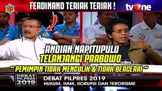 """Video SERU! Adian Napitupulu dan Ferdinand Hutahaean Adu Mulut """" Pemimpin Nyuliik dan Ceraaii """" MP3, 3GP, MP4, WEBM, AVI, FLV Januari 2019"""