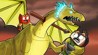 Minecraft Dragons - LIGHTNING DRAGON RESCUE MISSION!