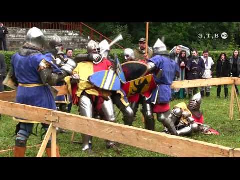 Рыцари в парке Победы АТВ 2016