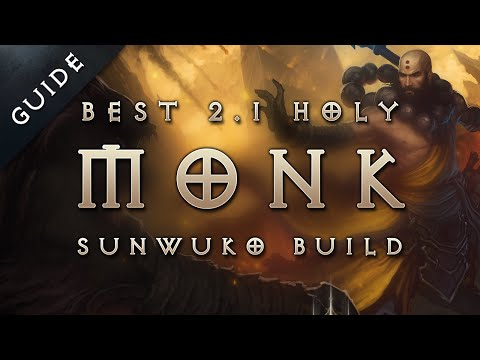 Best 2.1 Monk Build & Gear: Holy Sunwuko Monk - Diablo 3 Reaper of Souls Guide