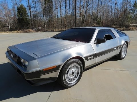 delorean dmc-12 del 1982