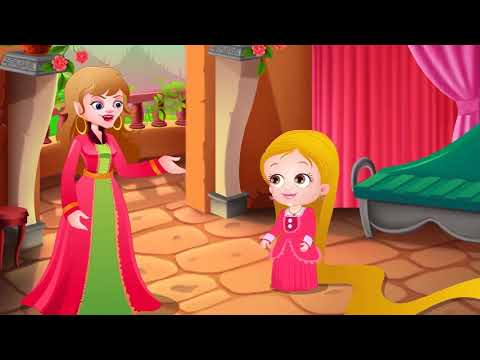 Rapunzel | Beauty & The Beast Short Movie in Hindi for Kids by Baby Hazel Hindi Fairy Tales
