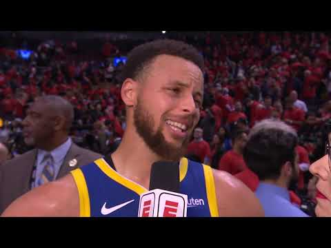 Stephen Curry Postgame Interview - Game 5 | Warriors vs Raptors | 2019 NBA Finals