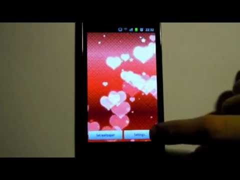 Video of Hearts Live Wallpaper Pro