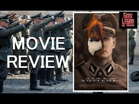THE MAN WITH THE IRON HEART ( 2017 Rosamund Pike ) Aka HHhH World War II Movie Review