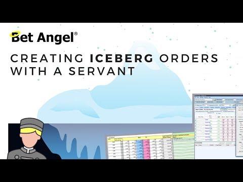 Betfair Trading – Iceberg Orders