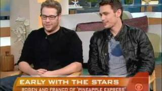 Nonton Interview  with James Franco & Seth Rogen : 'Pineapple Express' /2008 Film Subtitle Indonesia Streaming Movie Download