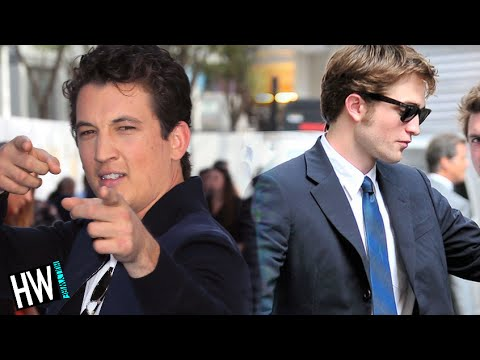 Miles Teller Vs. Robert Pattinson: Drunk Dance-Off
