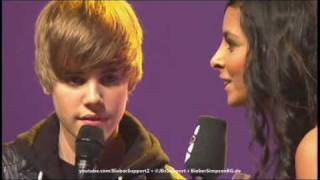 Oberhausen Germany  City new picture : Justin Bieber speaking German @ Comet 2010 - May 21, 2010 - Oberhausen, Germany
