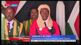 KTN Prime, CJ David Maraga challenged by president Uhuru Kenyatta to reform the judiciary,20/10/2016