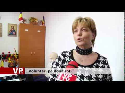 """Voluntari pe două roți"""