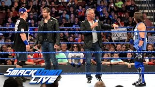 Nonton Aj Styles Must Battle Dean Ambrose And John Cena At No Mercy  Smackdown Live  Sept  13  2016 Film Subtitle Indonesia Streaming Movie Download