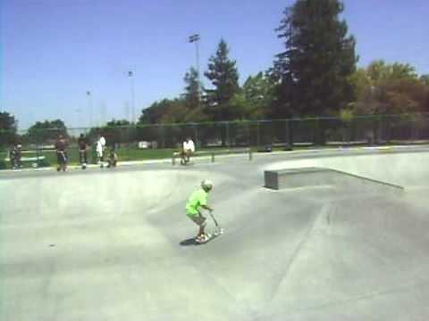 Sunnyvale skatepark scooter Comp