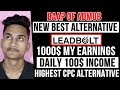 10$ cpc leadbolt best admob alternative ft. baap of admob