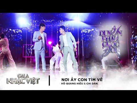 Nơi Ấy Con Tìm Về - Hồ Quang Hiếu, Chi Dân | Gala Nhạc Việt 8 (Official) - Thời lượng: 4:31.