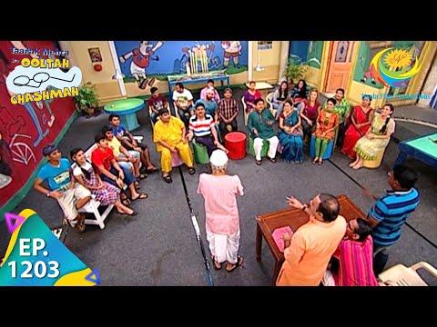 Taarak Mehta Ka Ooltah Chashmah - Episode 1203 - Full Episode