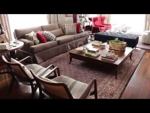 Projeto de interiores - Luxo clássico na avenida Beira Mar, em Florianópolis