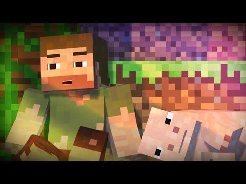 "♪ ""Apex"" – A Minecraft Original Music Video!"