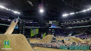 Moto X Quarterpipe High Air: FULL BROADCAST | X Games Minneapolis 2019
