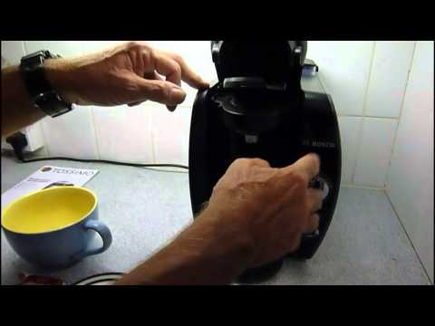 Home review of the Bosch Tassimo 65 coffee maker