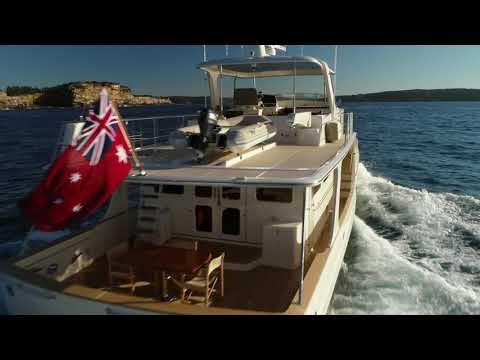video of Fleming 65 Pilothouse