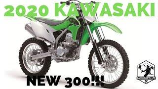 6. 2020 Kawasaki Lineup - NEW KLX300!!