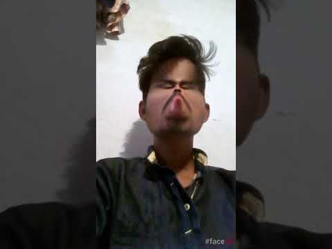 Funny thoughts and funny face acting