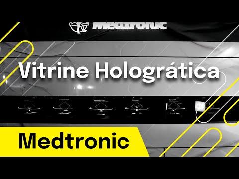 Medtronic - Vitrine holográfica - Holographic Windows Shop