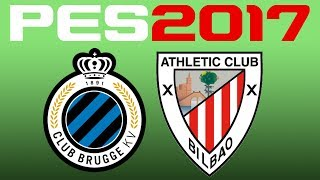 Club Brugge vs Athletic Bilbao simulated in #PES2017Enjoy! You can find me onFacebook - https://www.facebook.com/corocusTwitter - https://www.twitter.com/corocus