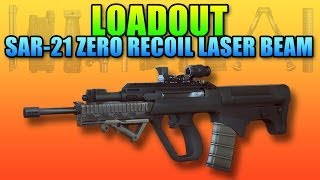 Loadout: SAR-21 Review - Zero Recoil Long Range Rifle (Battlefield 4 Gameplay/Commentary)