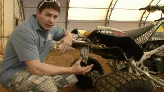 3. Race Tech, Can-Am DS450 Shock Conversion Test
