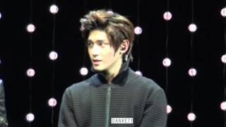 151019 sm rookies show LEE TAEYONG focus Do not cut my video to make GIF plz 请勿截取我的视频制作gif动画.