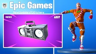 *NEW* Fortnite Content UPDATE #2 is HAPPENING NOW! BOOM BOX (Fortnite: Battle Royale)