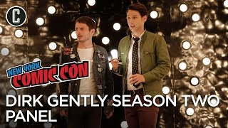 Dirk Gently's Holistic Detective Agency Season Two Panel - NYCC 2017 by Collider