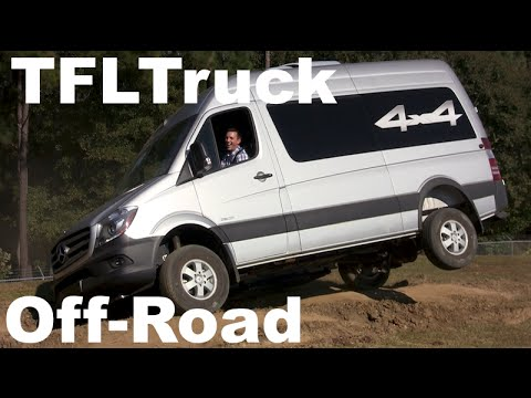 Mercedes - http://www.TFLtruck.com ) The 2015 Mercedes-Benz Diesel Sprinter 4X4 is unique vehicle in that it combines the utility of a van with the go anywhere all-wheel-drive capability of of truck...