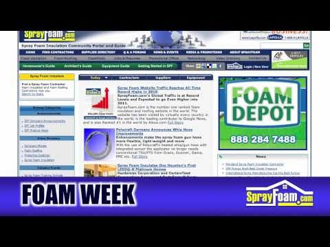 FOAM WEEK TV - Spray Foam News - 12/17/2010