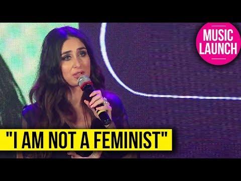 Kareena Kapoor SHOCKING Statement On FEMINISM At '