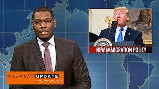 Weekend Update anchors Colin Jost and Michael Che tackle the week's biggest news, including White House staffing changes and North Korea's threat to use nuclear missiles.Get more SNL: http://www.nbc.com/saturday-night-liveFull Episodes: http://www.nbc.com/saturday-night-liv...Like SNL: https://www.facebook.com/snlFollow SNL: https://twitter.com/nbcsnlSNL Tumblr: http://nbcsnl.tumblr.com/SNL Instagram: http://instagram.com/nbcsnl SNL Pinterest: http://www.pinterest.com/nbcsnl/