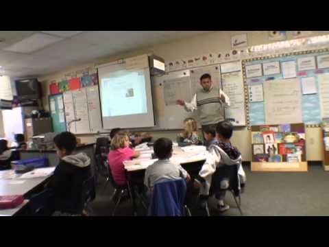 reading - In this first day of instruction, the teacher focuses his first graders on a complex text. The instruction centers on the vocabulary. The subsequent lessons ...