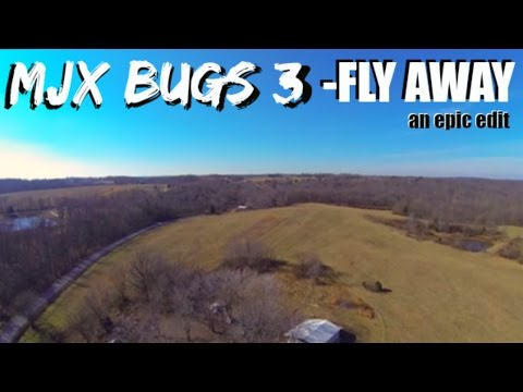 FLY AWAY - an aerial footage edit | MY FIRST THREE DAYS IN THE AIR with the MJX Bugs 3!