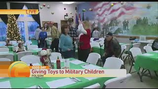 The 10th Annual Military Children's Toy Drive