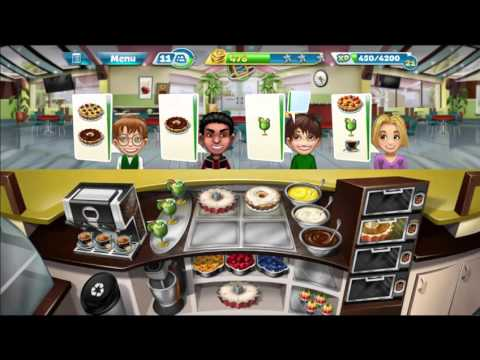 Cooking Fever: Bakery Levels 31-33